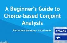Webinar – A Beginners Guide to Choice-based Conjoint Analysis
